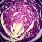 The Turkey Trot and a Purple Asian Cabbage Slaw recipe
